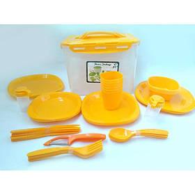 Столовий набір для пікніка 41 предмет A-PLUS 106-55