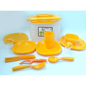 Столовый набор для пикника 41 предмет A-PLUS 106-55