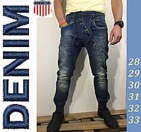 Мужские модные джинсы зауженные  Denim., фото 1