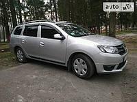 Ветровики Dacia Logan MCV 2013-  дефлекторы окон