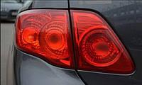 Пленка защитная для фар Clear 1м*30см (красная)