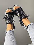 Женские кожаные босоножки спортивного стиля (разные цвета), фото 10
