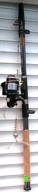 Комплект Спиннинг+Катушка с пружинной оснасткой  2,4м