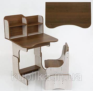 Парта школьная ЛДСП ПШ 012 (69*45 см) + 1 стул