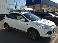 Ветровики Ford Kuga 2013-/Escape 2012-  дефлекторы окон