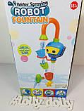Водопад 9908 Робот с насосом игрушка в ванную, фото 5