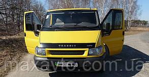 Мухобойка, дефлектор капота FORD Transit c 1999-2007г.в.