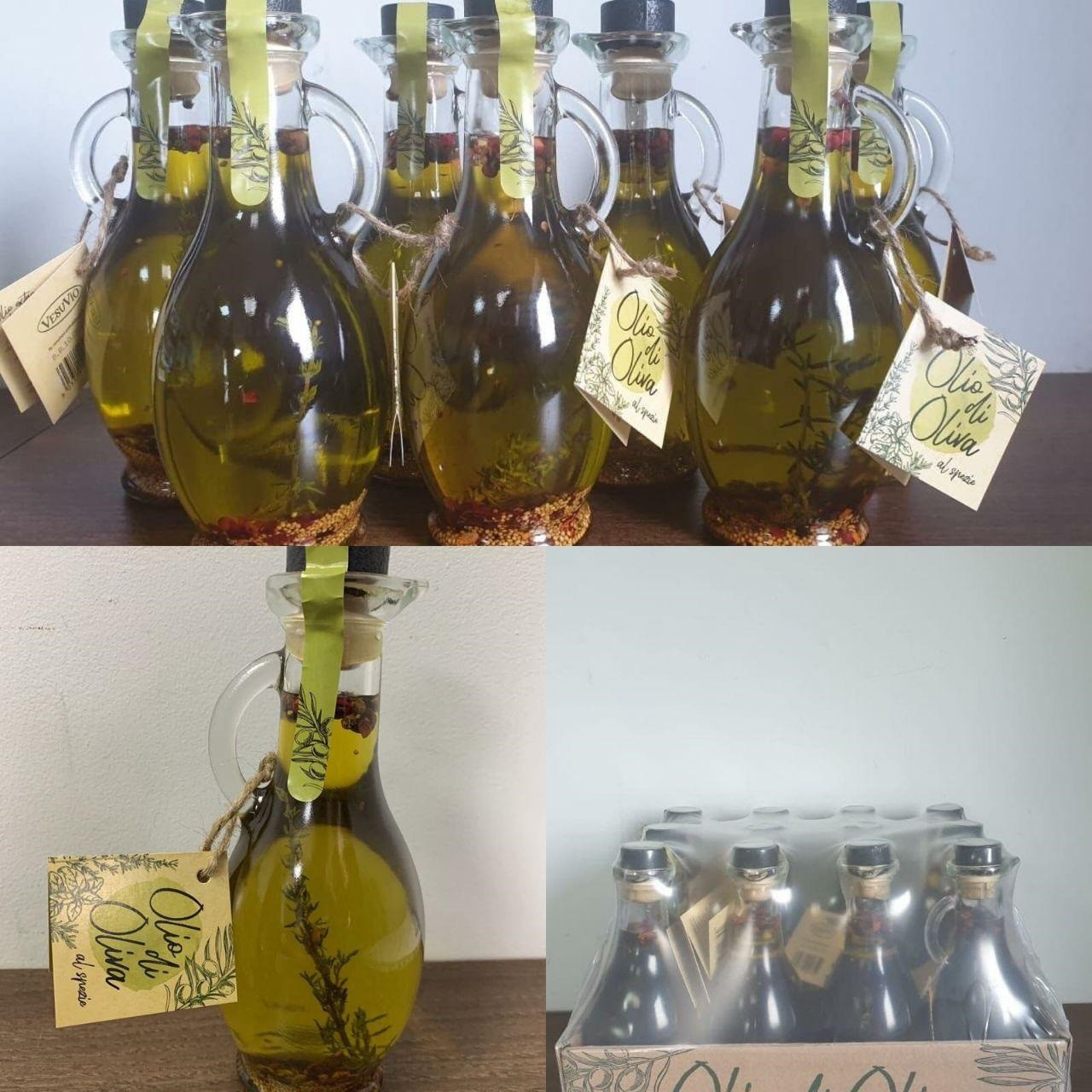 Оливкова олія з розмарином Vesuvio