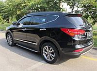 Ветровики Hyundai Grand Santa Fe 2013-2018  дефлекторы окон