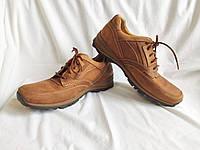Туфли мужские кожаные коричневые Clarks Active Air (Размер 45, UK11G)