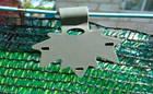 Кліпса Кленовий лист для кріплення затіняючої сітки, 50 шт/упак, фото 2