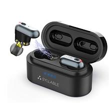 Беспроводные двухдрайверные наушники SYLLABLE S101 QCC3020 bluetooth V 5.0 до 10 часов прослушивания музыки