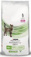 Purina Pro Plan PVD HA Hypoallergenic 1,3кг -лечебный корм для кошек при аллергии