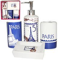 Набор аксессуаров для ванной комнаты 4 предмета Париж Snt 888-06-013