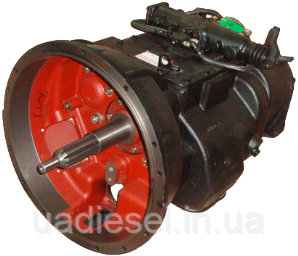 Коробка передач КПП 9JS135A МАЗ 9-ти ступенчатая (пр-во Shaanxi Fast Gear) для двигателя ЯМЗ-236БЕ2