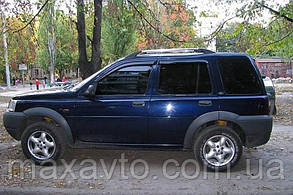 Ветровики Land Rover Freelander I 1998-2006  дефлекторы окон