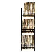 """Металлический стеллаж для хранения пластинок """"Ромбы 300"""" (3 уровня), фото 2"""