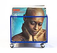 Контейнер для хранения виниловых пластинок (синий), фото 3