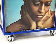 Контейнер для хранения виниловых пластинок (синий), фото 7