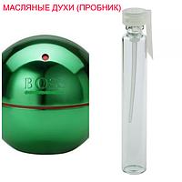 Парфюмерное масло (концентрат)  Boss In Motion Green - 1мл.