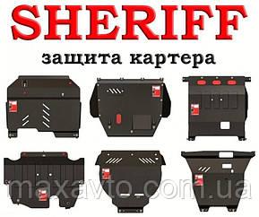 Защита двигателя для Mitsubishi L200  2007- рад+двс+кпп+раз