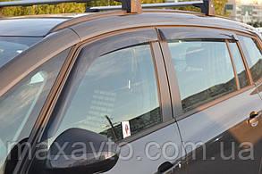 Ветровики Opel Zafira C 2011  дефлекторы окон