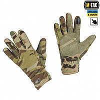 M-Tac перчатки флис Winter Tactical Windblock multicam, фото 1