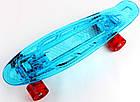 "Penny Board ""Led"". Синий цвет. Дека и колеса светятся!, фото 2"