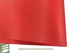 Дизайнерський папір Hyacinth Star Rain, червона, 120 гр/м2