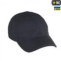 M-Tac бейсболка полевая рип-стоп черная, фото 1