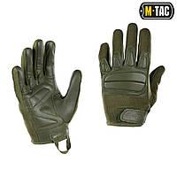 M-Tac перчатки тактические Assault Mk.2 олива, фото 1