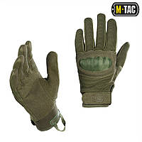 M-Tac перчатки тактические Assault Mk.3 олива, фото 1