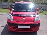 Мухобойка, дефлектор капота Renault Kangoo с 2007-2013 г.в.