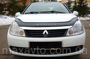 Мухобойка, дефлектор капота Renault Symbol з 2012 р. в.
