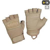 M-Tac перчатки тактические беспалые Assault Mk.4 хаки, фото 1