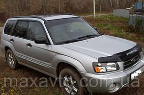 Ветровики Subaru Forester II 2002-2008 (4 части)  дефлекторы окон
