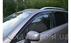 Ветровики Subaru Forester IV 2012  дефлекторы окон