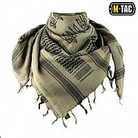 M-Tac шарф шемаг с Тризубом серо-зеленый/черный, фото 1