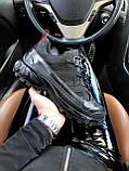 Женские кроссовки Burberry London Arthur Sneakers Black, фото 2