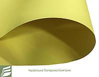 Дизайнерский картон Creative board, матовый лимонный, 270 гр/м2