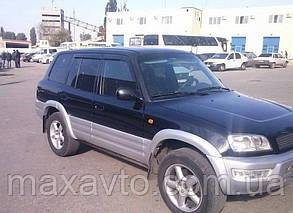 Ветровики Toyota Rav 4 I 5d 1994-1999  дефлекторы окон