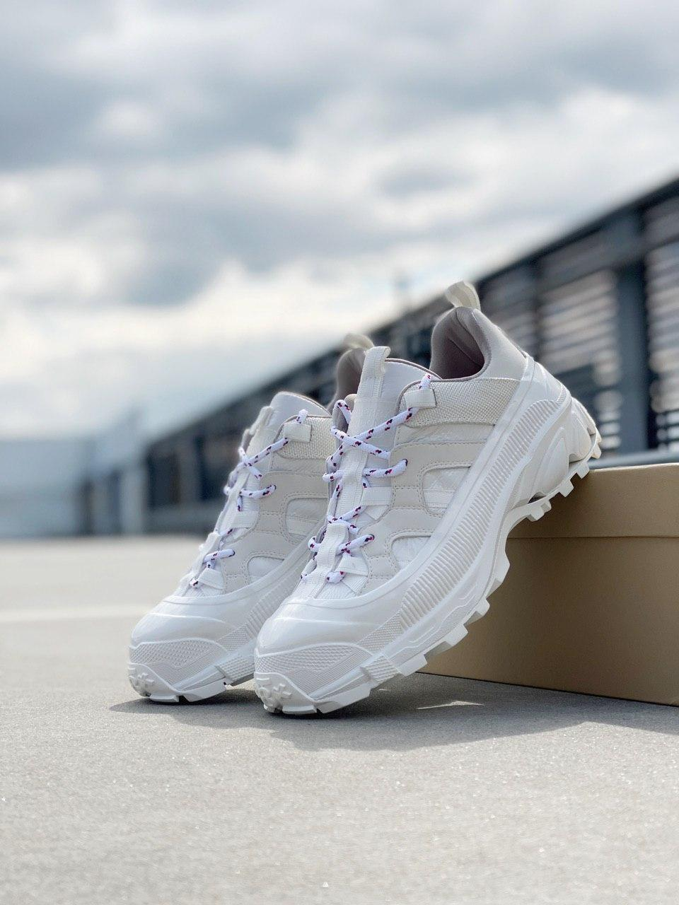Женские кроссовки Burberry London Arthur Sneakers White