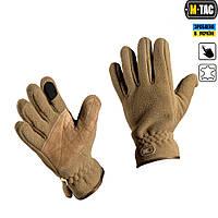 M-Tac перчатки тактические зимние Windblock 295 койот, фото 1