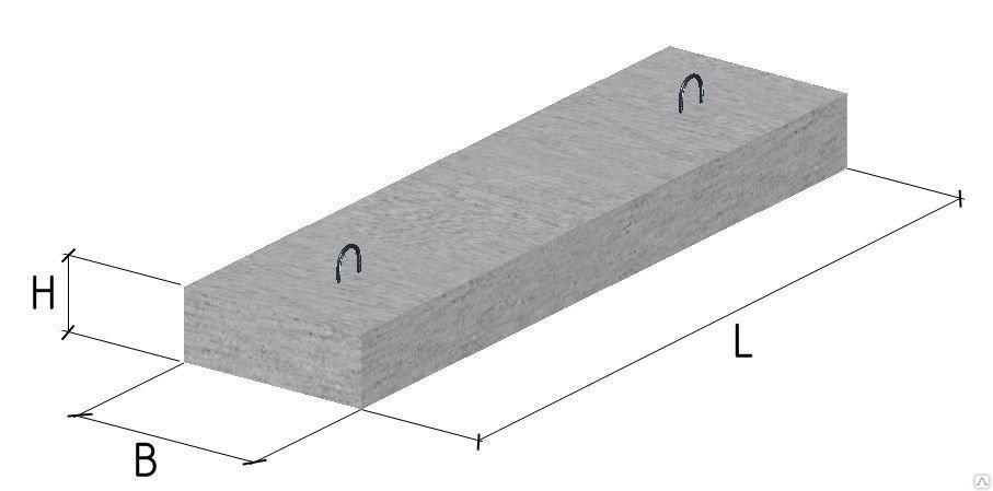 Перемичка плитна 6 ПП 21-72