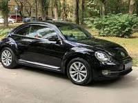 Ветровики VW Beetle 2011 (Цельная)  дефлекторы окон