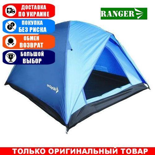 Палатка туристическая King Camp Family; 3-х местная; 130х205х205см. Универсальная. Туристичкакая палатка King Camp Family KT3073BL.