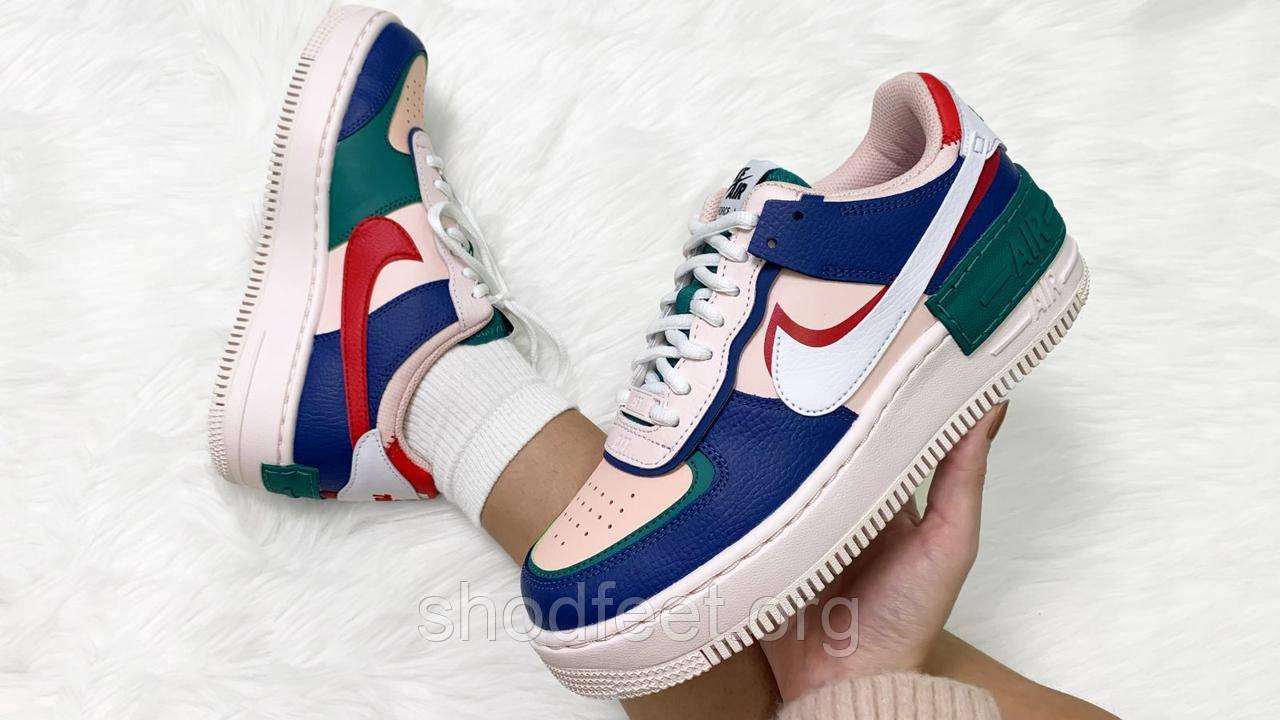 Женские кроссовки Nike Air Force 1 Shadow Shoes Mystic