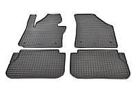 Авто коврики резиновые в салон Volkswagen Caddy 2004-2018 VW Caddy ковры в салон фольцваген кади