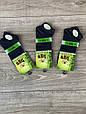 Чоловічі шкарпетки короткі бамбук BYT однотонні в сітку 40-45 12 шт в уп чорні білі світло сірі сині бежеві, фото 4