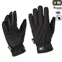 M-Tac перчатки Soft Shell Thinsulate Black, фото 1